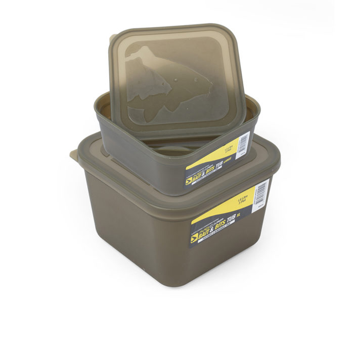 Avid Carp Bait & Bits Tub with Removable Inner Tray