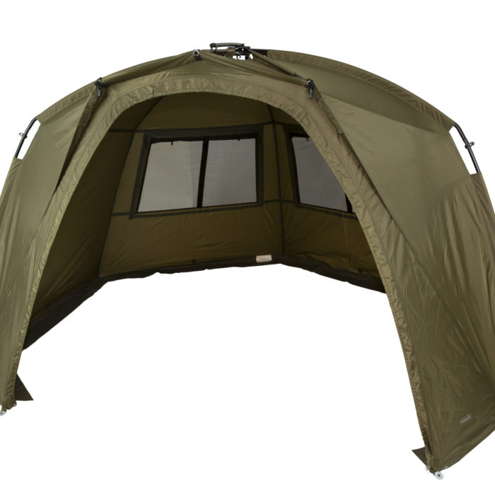with the Trakker Tempest Brolly 100T