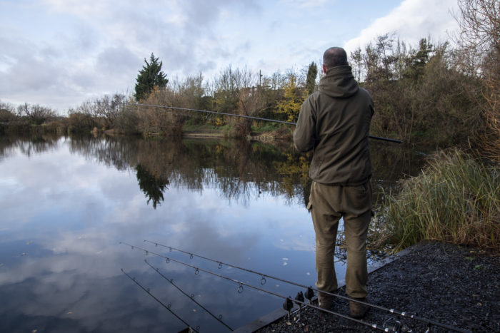 Carp fishing at the best time of day