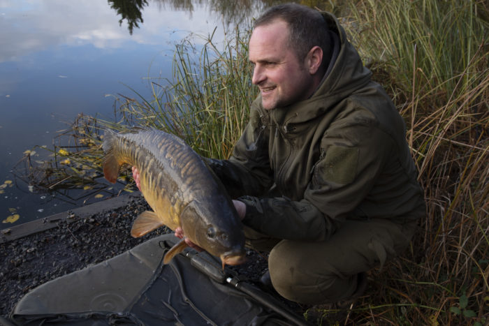 Russell Webb with Carp